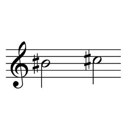 B#4~C#5(C5~D♭5)