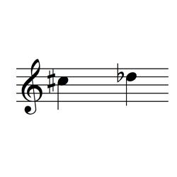 ド♯・レ♭ / C♯5・D♭5