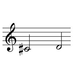 ド♯~レ / C#4~D4