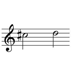 ド♯~レ / C#5~D5