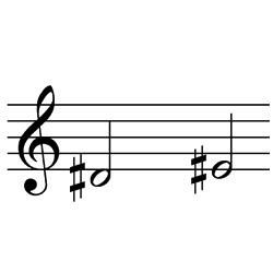 レ♯~ミ♯(ミ♭~ファ) / D#4~E#4(e♭4~f4)