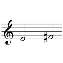 ミ~ファ♯ / E4~F#4(F♭4~G♭4)