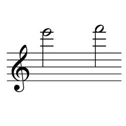 ミ~ファ / E6~F6