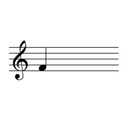 ファ / F4