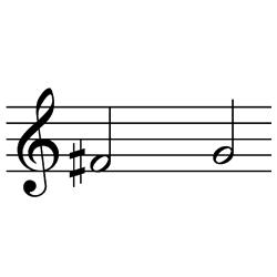 ファ♯~ソ / F#4~G4