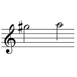 ソ♯~ラ / G#5~A5